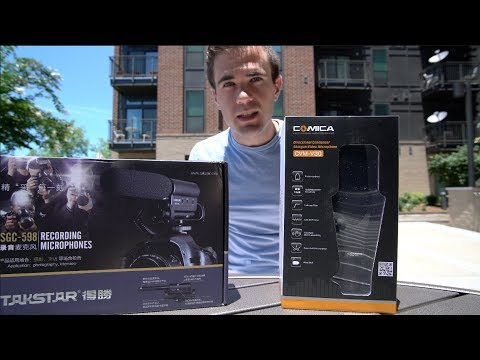 Cheap Shotgun Microphone Comparison - Takstar SGC-598 vs Comica CVM-V30