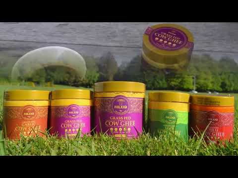 Milkio's grass fed ghee is truly one of a kind