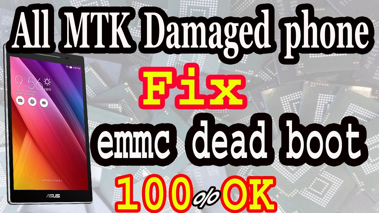 All MTK Cpu Unbrick or Restore and Damaged phone fix,emmc dead boot repair  ok By AMS TECH