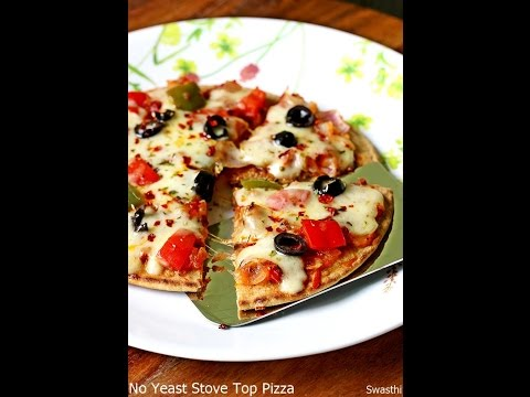 Pizza Recipe: How to Make Pizza Without Oven