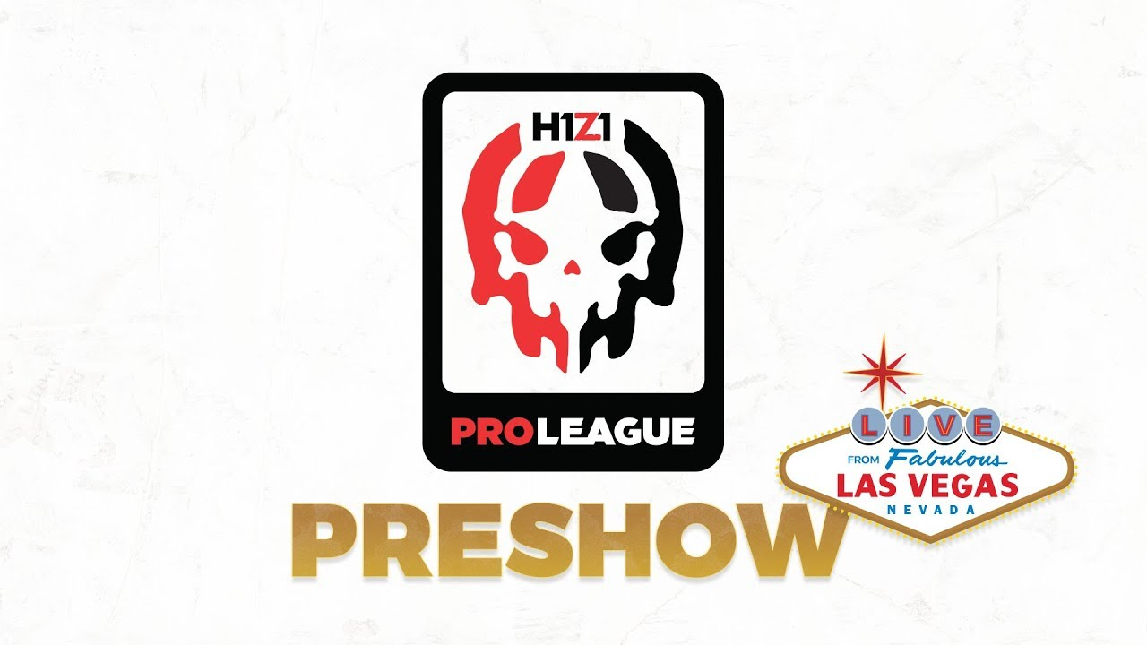 H1Z1 Pro League Pre Show! - LIVE From Las Vegas!