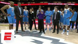 Kings owner Vivek Ranadive makes statement to fans after protest closes Golden1Center doors | ESPN
