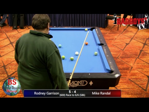 2019 MICHIGAN BCAPL STATE CHAMPIONSHIPS 8 Ball Rodney Garrison Vs Mike Randal