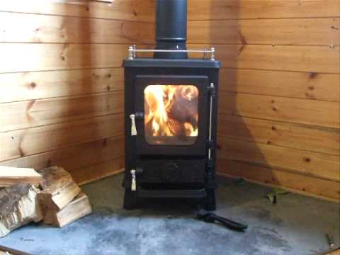 The Hobbit Multi Fuel Stove In Action Secondary