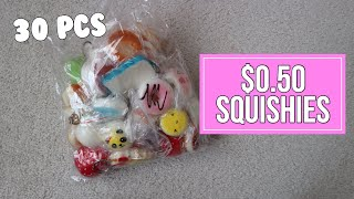CHEAP Squishy Package from Amazon   30 pcs