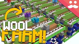 видео Minecraft How to Make: Wool, Shears, Beds and Paintings