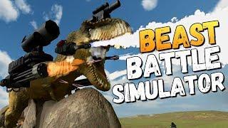 САМЫЕ БЕЗУМНЫЕ ЧЕЛЕНДЖИ - Beast Battle Simulator