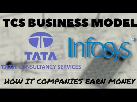 TCS BUSINESS MODEL | How IT Companies like Infosys and TCS e