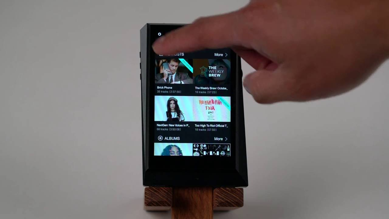 A look at TIDAL on Astell&Kern players - Head-Fi TV