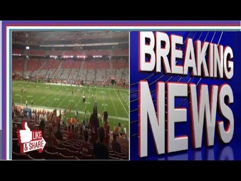 The NFL boycott led to empty arenas