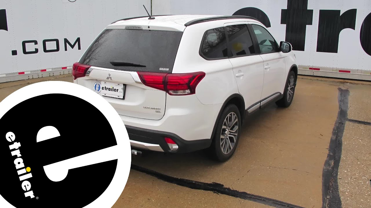 Trailer Hitch Installation 2016 Mitsubishi Outlander etrailer