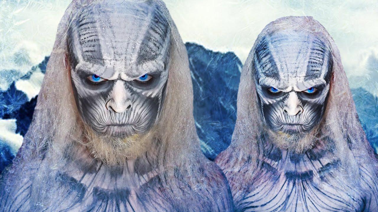White walker game of thrones makeup tutorial youtube baditri Images