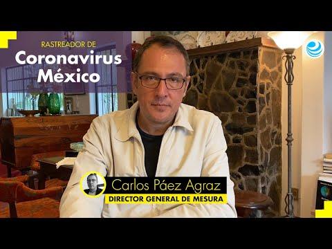 Rastreador de Coronavirus México: 9 de julio de 2020