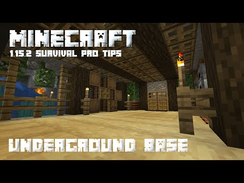 #Complete : how to make underground house in minecraft [Hindi]