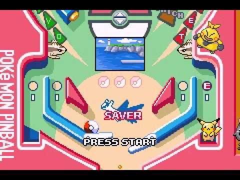 Pokemon Pinball Ruby and Sapphire ROM Download - YouTube