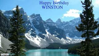 Winston   Nature & Naturaleza7 - Happy Birthday