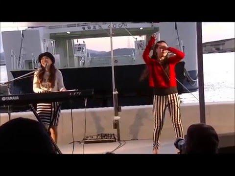 「Mebius」(#33)   (広島東洋カープ菊池涼介選手 登場曲) たけはら海の駅(GIRLS POP MUSIC LIVE at) (7) 2014.11.29