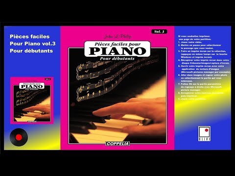 PARTITIONS - MÉTHODE DE PIANO VOL.3 POUR DÉBUTANTS - COPPELIA OLIVI