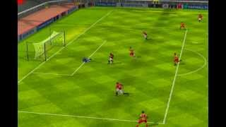 FIFA 14 iPhone/iPad - Manchester Utd vs. FC Barcelona的副本