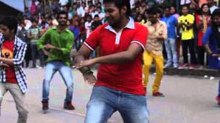 OFFICIAL ICC T20 WORLD CUP BANGLADESH 2014 Flash Mob Victoria University of Bangladesh