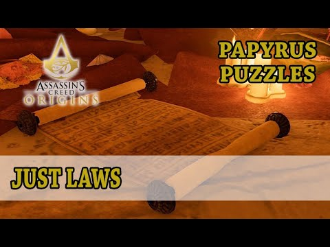 Assassin's Creed: Origins: Papyruses: Just Laws - Faiyum Oasis, House of Iwn