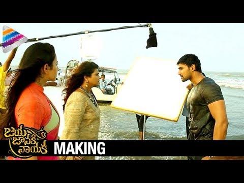 Jaya Janaki Nayaka Movie Making | Hamsala Deevi Fight | Bellamkonda Srinivas | Rakul Preet | Pragya thumbnail