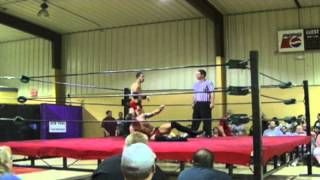CB Slade vs  Cameron Thomas @ Gulf Coast Wrestling (20 July 2013)