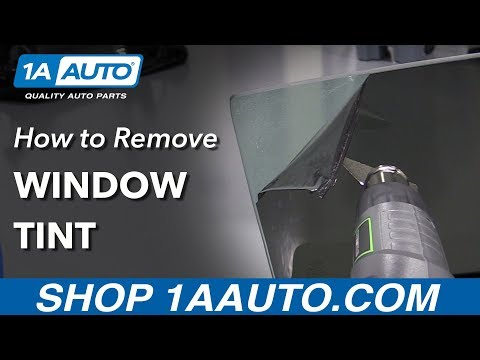 How to Remove Window Tint (Full Guide)