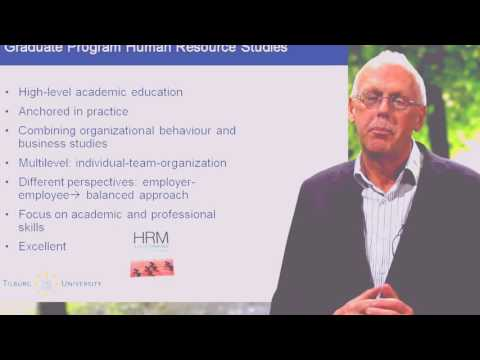 Online Master's Degree in human resources