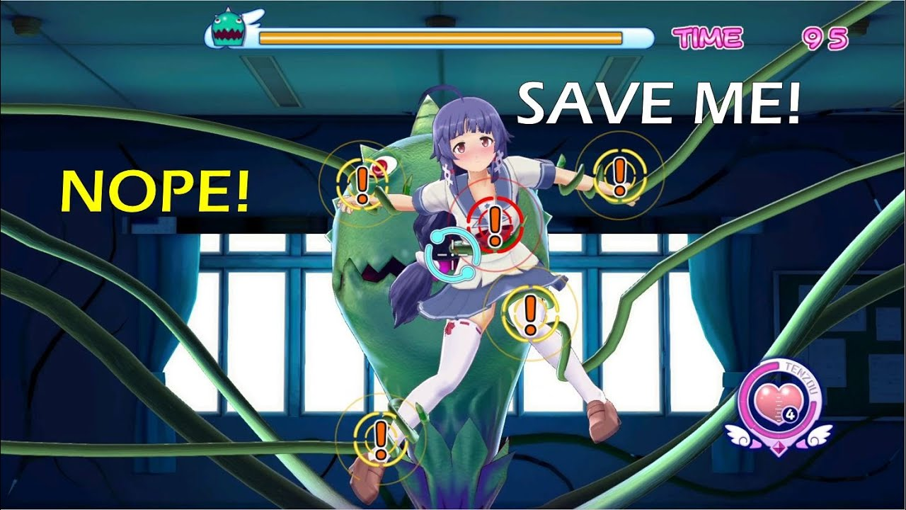 Download Girl VS Tentacles:  Save/Not Save Her (replayed, full version)