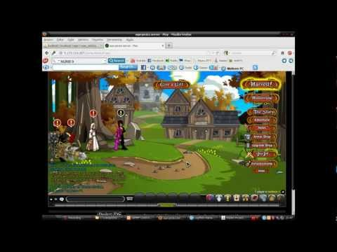 Como criar um server private de aqw (O mas facil do youtube) HD PARTE 1/2