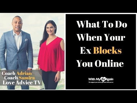 What To Do When Your Ex Blocks You Online