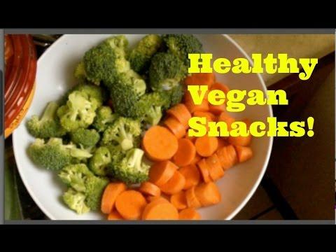 Healthy Late Night Vegan Snacks!
