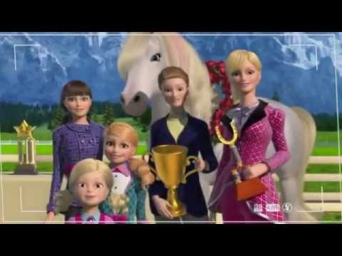 Barbie et ses s urs au club hippique youtube - Barbie club hippique ...
