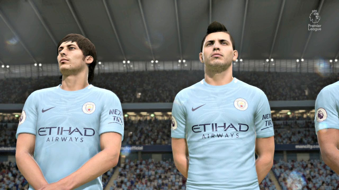 FIFA 18 | Manchester United vs Manchester City Premier League Gameplay