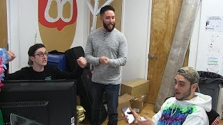 The Rocket and White Sox Dave Go to Battle Again - Stool Scenes 105