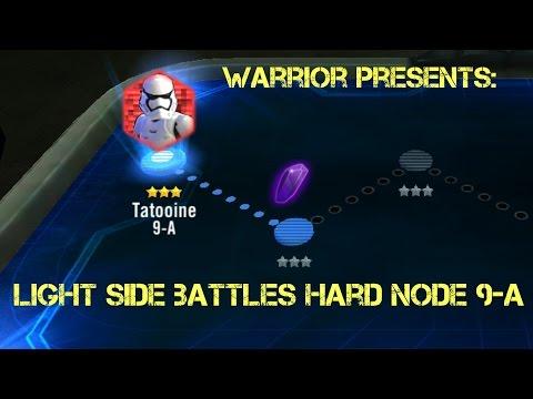Light Side Battles Level 9 Hard Node 9-A  Star Wars Galaxy of Heroes