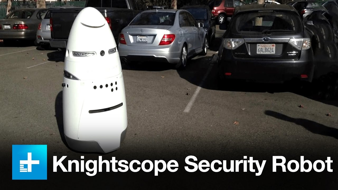 hight resolution of knightscope security robots first look