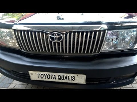 Toyota Qualis Mutli Utility Vehicle Introduced In 2000 Interior