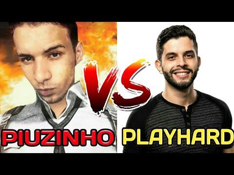 PIUZINHO VS PLAYHARD  quem e o melhor no free fire