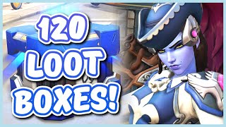 Overwatch - OPENING 120 ARCHIVES EVENT LOOT BOXES