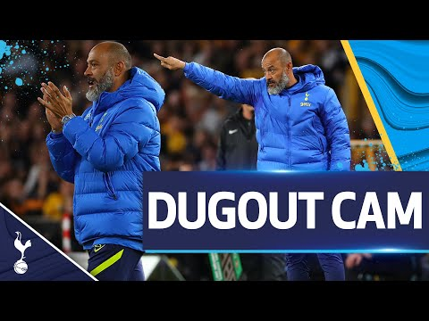 UNIQUE view of Nuno's reactions to a spectacular cup tie with the Lobos!  |  DUGOUT CAM