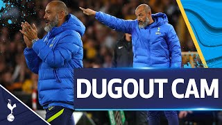 UNIQUE view of Nuno's reactions in a dramatic cup-tie with Wolves!