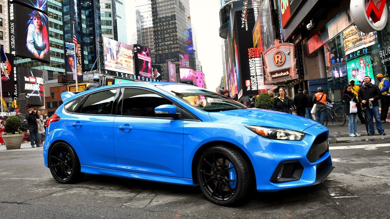 2016 Ford Focus Rs Review Interior And Exterior