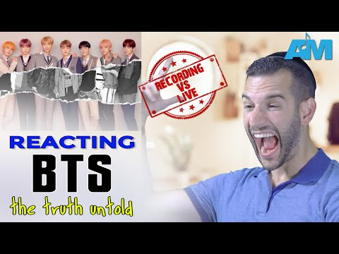 VOCAL COACH Reacts To TRUTH UNTOLD By BTS