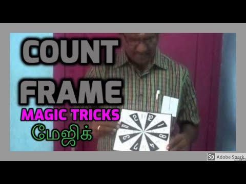 ONLINE MAGIC TRICKS TAMIL I ONLINE TAMIL MAGIC #345 I COUNT FRAME