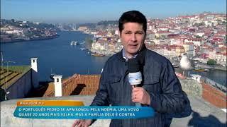 Hora do Faro viaja a Portugal para buscar namorado da vovó Noêmia