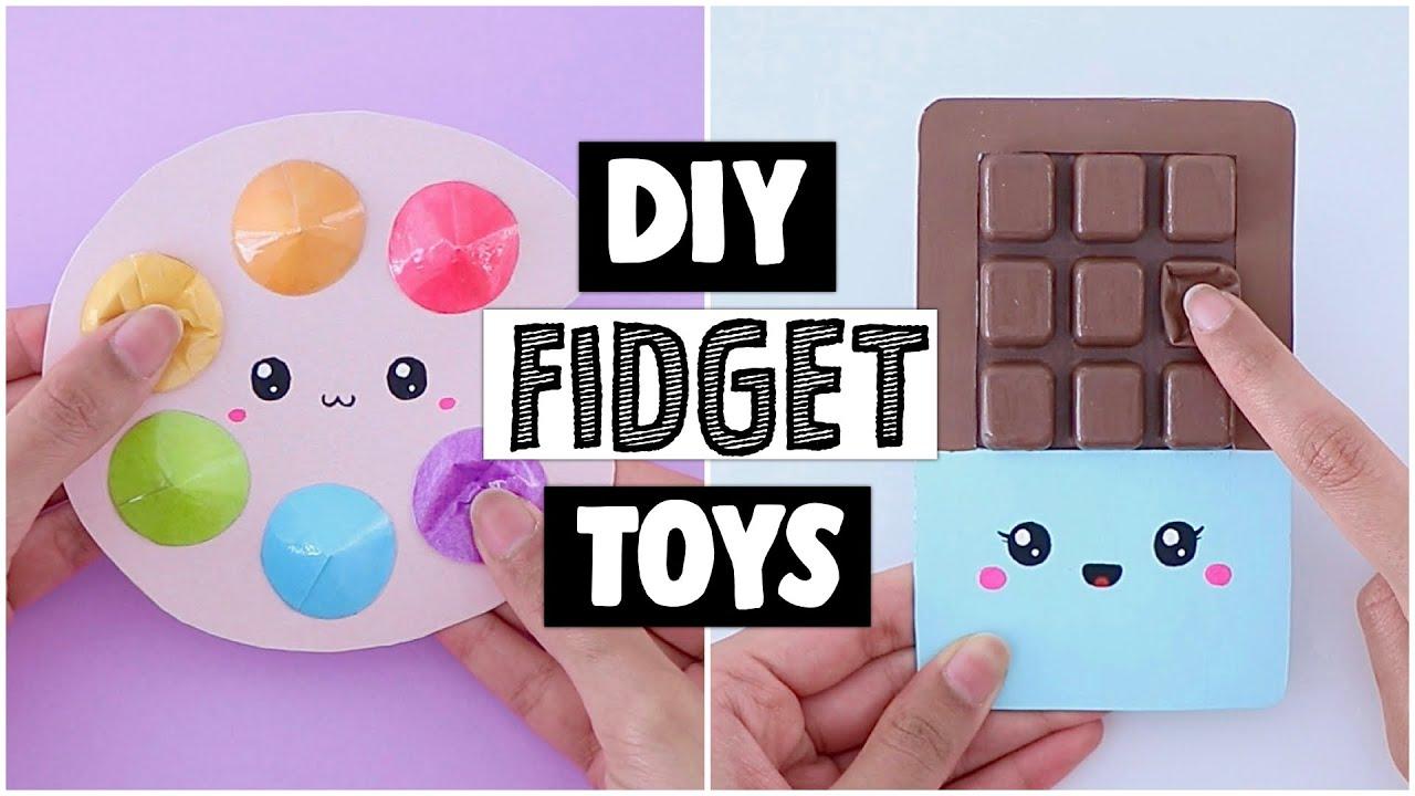DIY POP IT Fidget Toys - How To Make Viral TikTok Fidget Toy At Home!