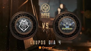 G2 ESPORTS VS FLASH WOLVES | MSI 2019 | League of Legends