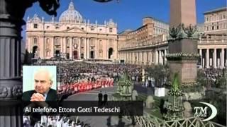 """Ettore Gotti Tedeschi: """"Non sono il corvo e ora querelo tutti"""""""